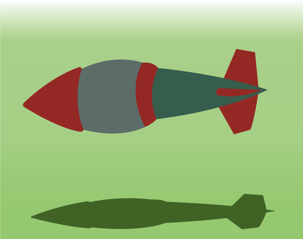 Vector Issue #6270: A barrel bomb flying at a low altitude
