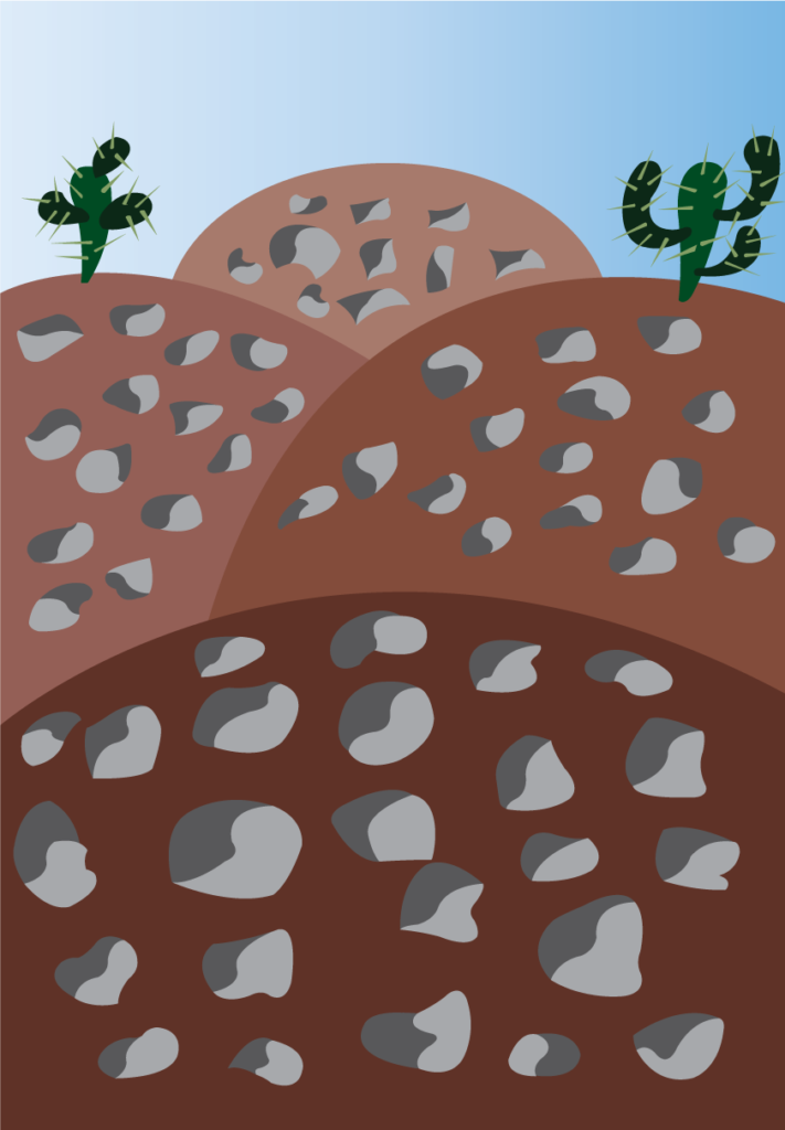 Vector Issue #6286: A widescreen view of a desert landscape