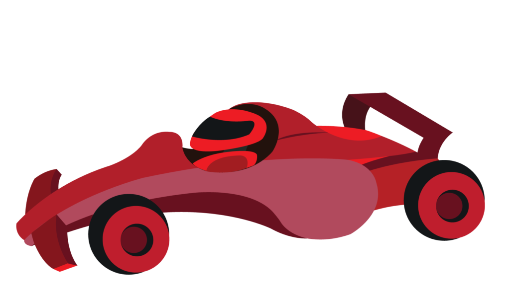 Vector Issue #6165: A formula 1 car ready for the racetrack