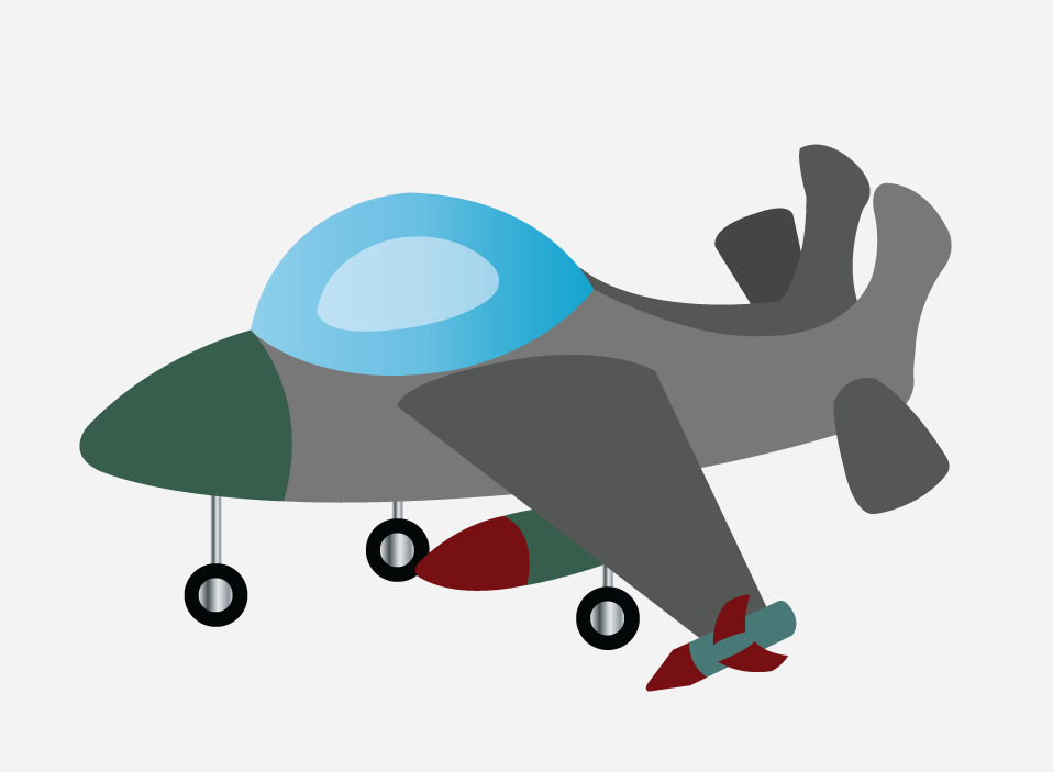 Vector Issue #6322: a fighter jet ready to fly off