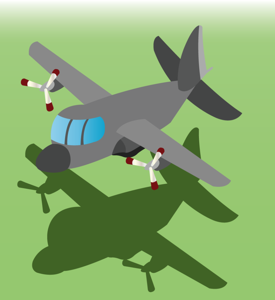 Vector Issue #6324: A military cargo plane on operation