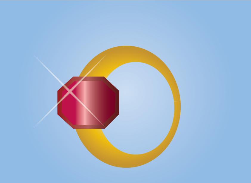 Vector Issue #6635: My Gold Ring-a gold Ring for display
