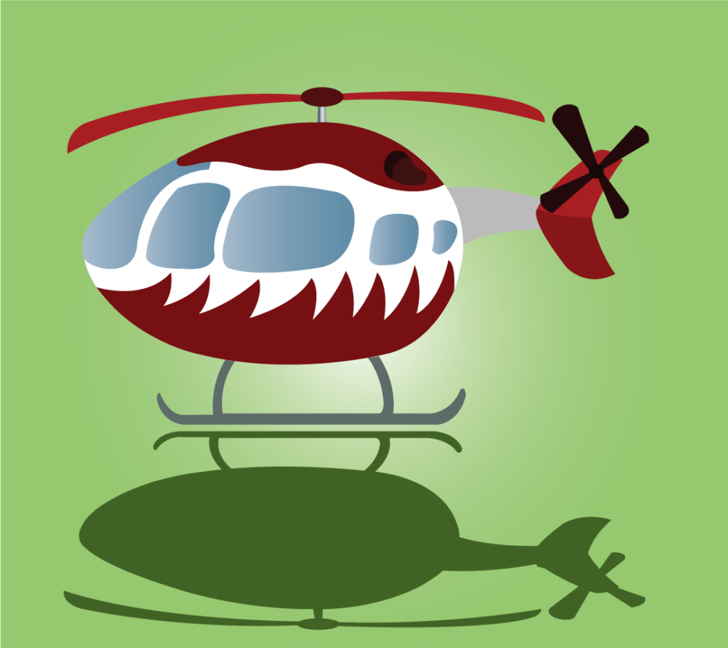 Vector Issue #6340: A special type of a recreational Helicopter 3
