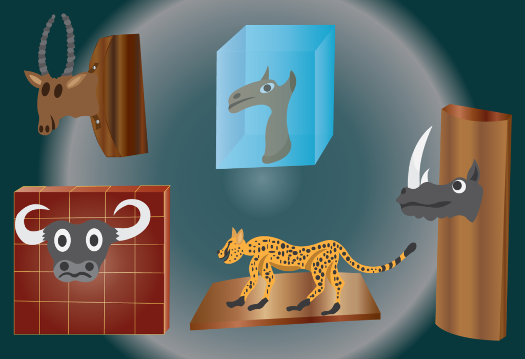Vector Issue #6446: Trophy Shop, A window display of trophy items
