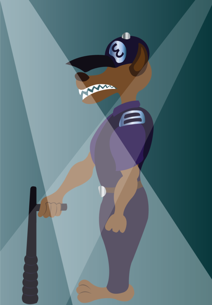 Vector Issue #6125: A night watchman stays on guard