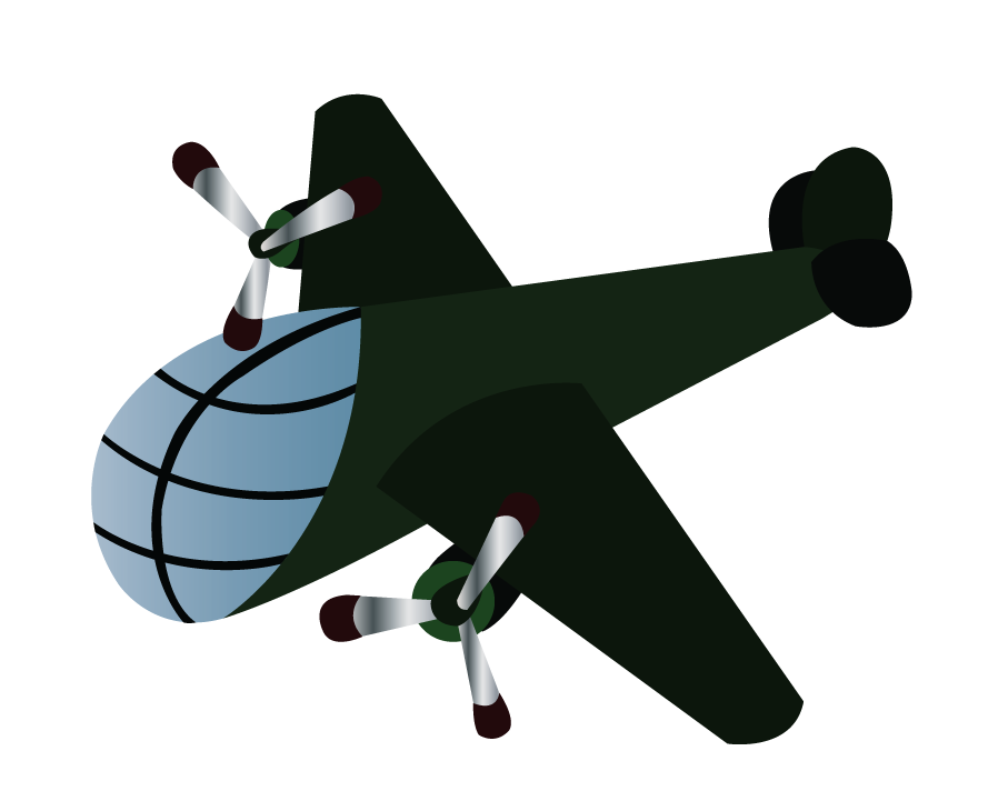 Vector Issue #6377: World War Two Aircrafts 1, a long distance bomber