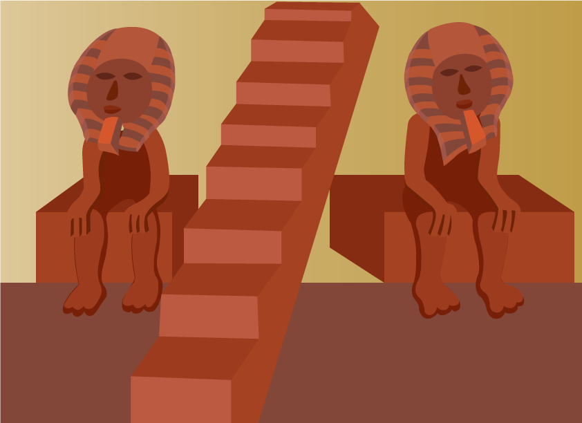 Vector Issue #6460: Ancient Egypt 3-The Statues at Thebes and Abu Simbel