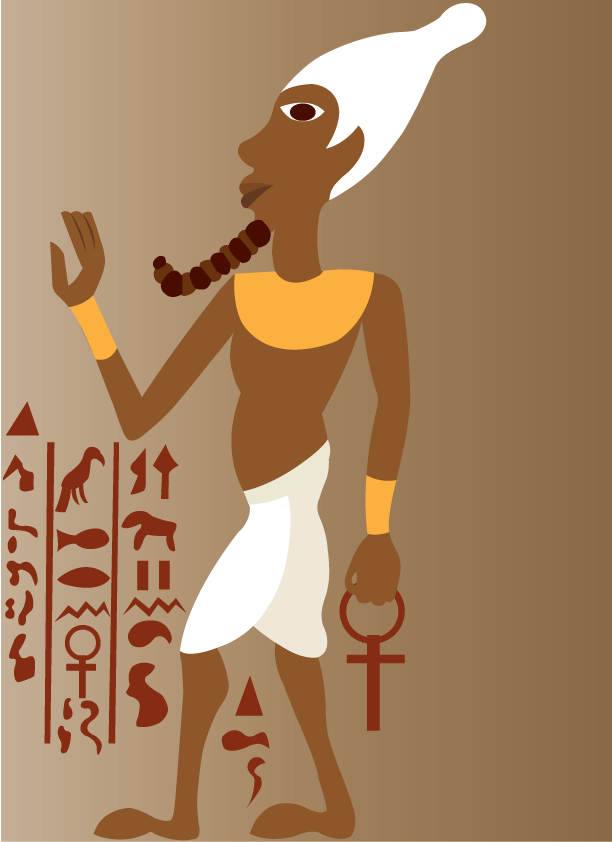 Vector Issue #6462: Ancient Egyptian Art 1- A full view Egyptian art and Literature