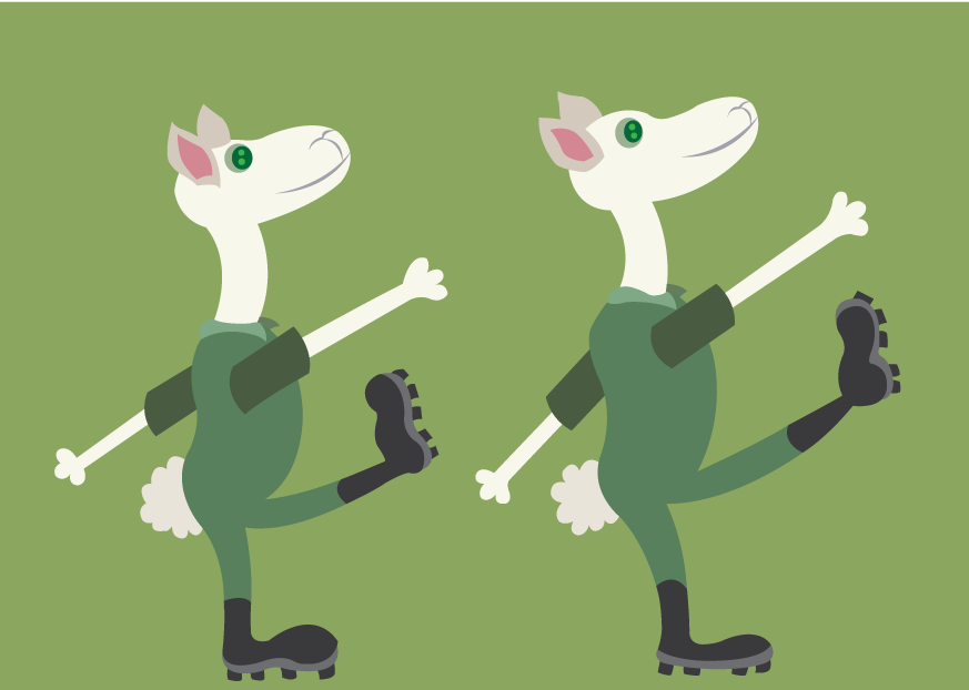 Vector Issue #6513: Forward March-sheep battalion marching in formation