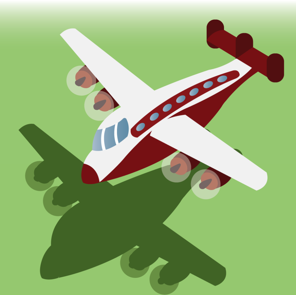 Vector Issue #6368: A constellation aircraft flying at low altitude