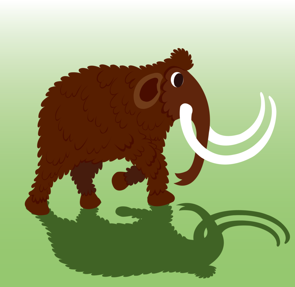 Vector Issue #6666: A woolly Mammoth