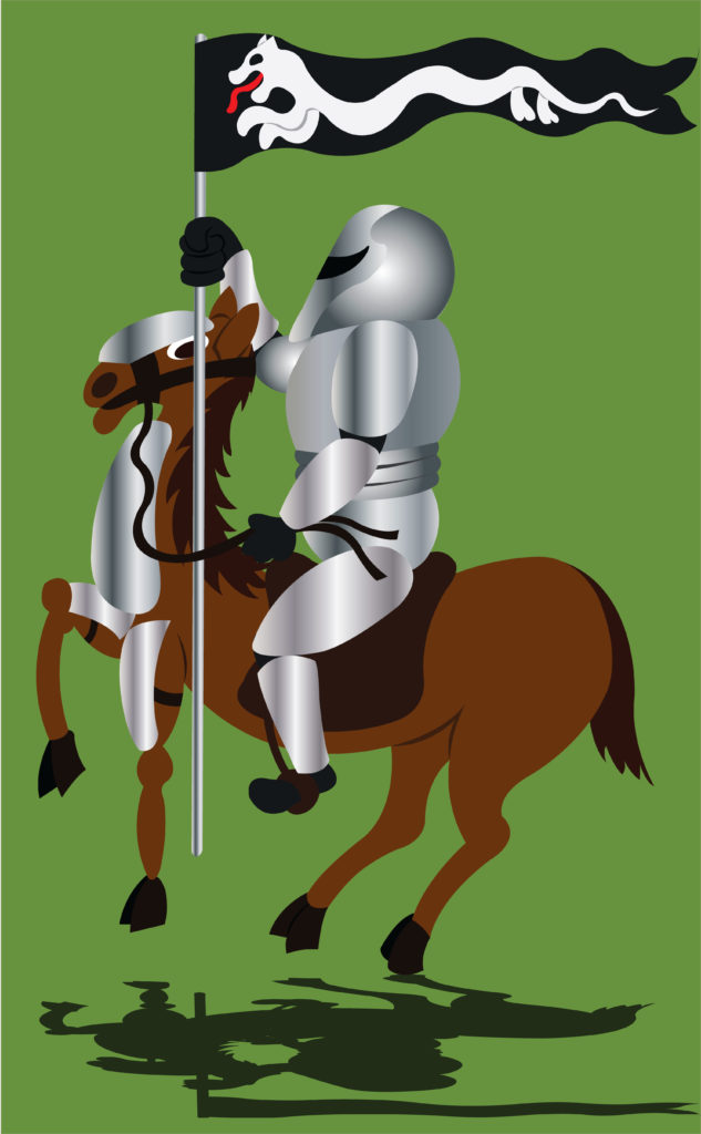 Vector Issue #6693:  Medieval knight in shining Armor The Legend of King Arthur and his knights of the roundtable has taken the world by storm, A picture of medieval Europe with its high stone wall castles, with warriors lancing and jousting all the time  is a phenomenon   that has become part and parcel of mainstream media, film  and literature.